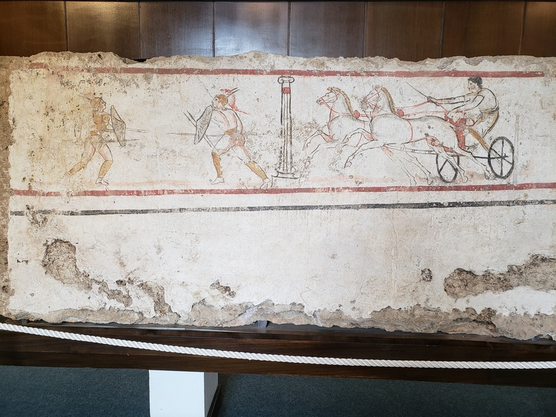 Duel and Two-Horse Chariot - Andriuolo Tomb 53, 350-330 BC.jpg